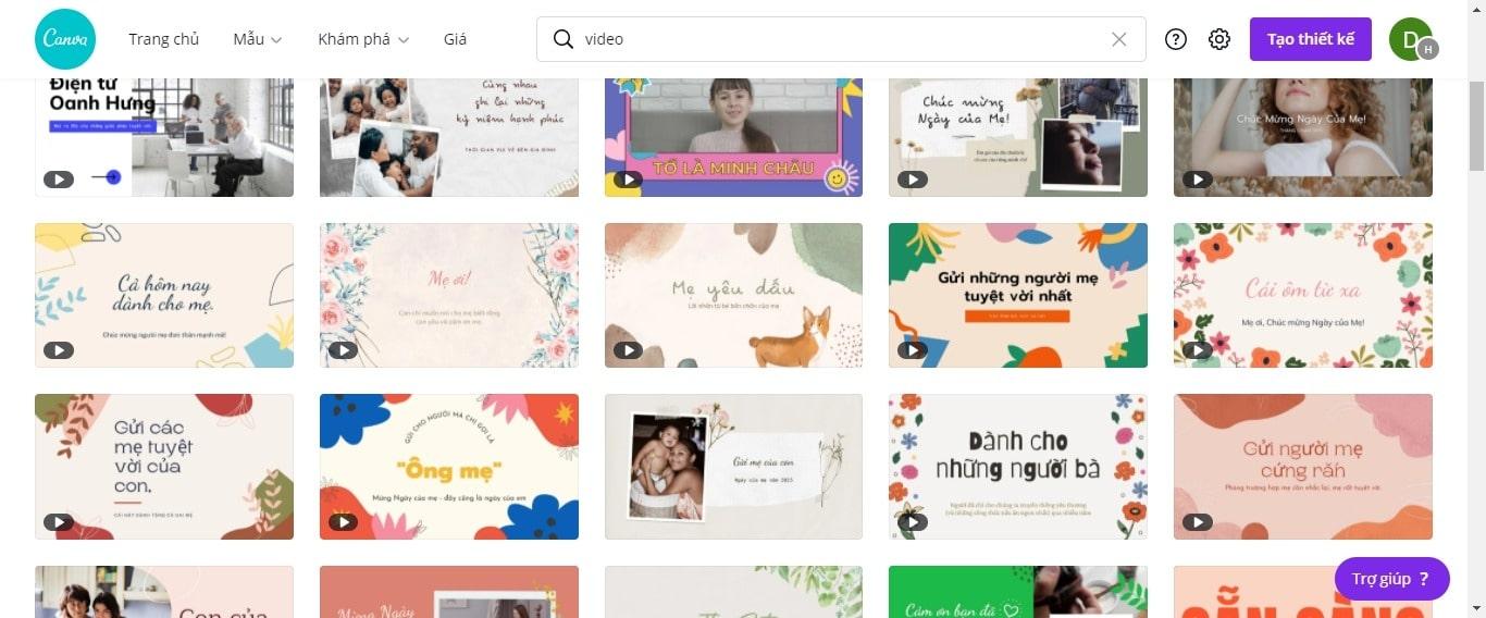 Làm video quảng cáo Online từ Canva