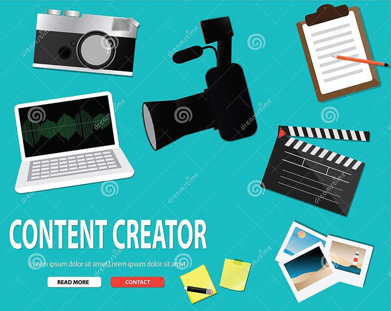 Công việc của Content Creator