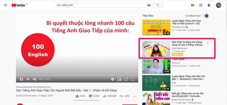 quảng cáo trên youtube bao nhiêu tiền 1 - trueview ads
